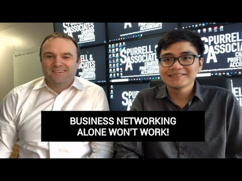Edmonton Business Coach | Business Networking Alone Won't Work
