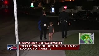 Boy wanders into Ocean Beach donut shop looking for parents