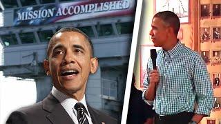 Obama's 'Mission Accomplished' Moment Feels Sadly Familiar thumbnail