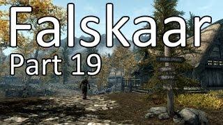 FALSKAAR Skyrim Mod Let's Play - SORTIEREN - Part 19