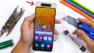 Samsung Galaxy A80 Durability Test - Samsung makes a Flippy Camera