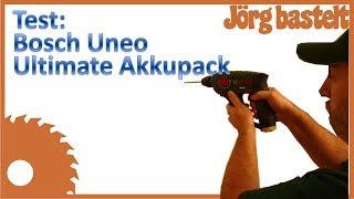 Jörg testet: Bosch Uneo Ultimate Akkupack und SDS Quick Ultimate Bohrer
