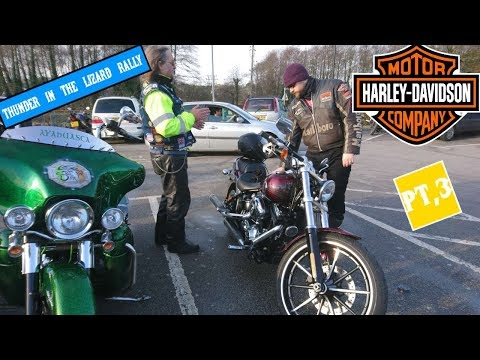 Loud Harley-Davidson Rally Rides Into The Dangerous Wild South West