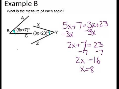 Congruent Angles and Angle Bisectors | CK-12 Foundation