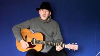 Jim Bruce Blues Guitar - Want To Play Blues Guitar In Public But Can't Move? STAGE FRIGHT!