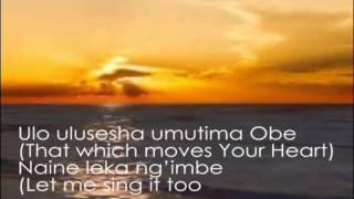 Damiano Mwana Mfumu  lwimbo inshi lyric mp3
