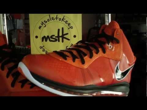 98c938e4caa9 Video  Nike LeBron 8 V2 Diana Taurasi All Star Game PE Via  mysoletokeep