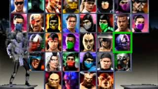 Mortal Kombat Trilogy   Secret Menu & Chameleon
