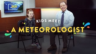 Kids Meet a Meteorologist! | Kids Meet | HiHo Kids