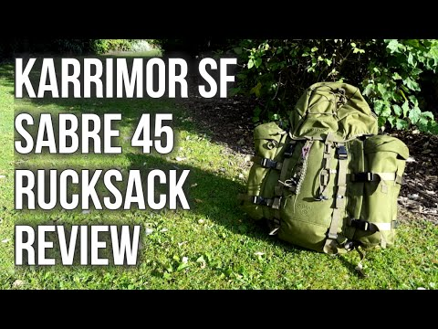 Karrimor SF Sabre 45 Rucksack Review Full HD