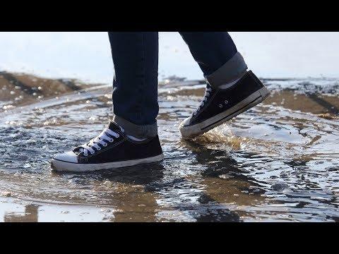 Come rendere impermeabili le scarpe di tela