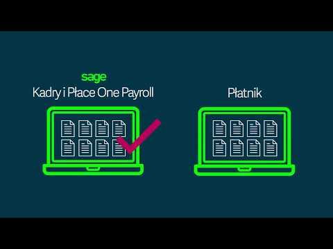 Jak zaimportować dane z programu Płatnik do Sage Kadry i Place One Payroll?<