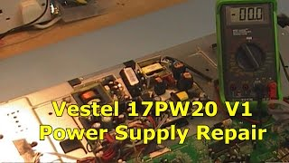 17pw20 v1 vestel power supply  lcd32805 acoustic solutions