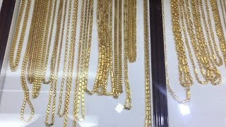 24 Karat Gold Chains and Jewelry