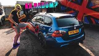 BMW E91 IŠ AUKCIONO / KĄ JAME RADOM? | VLOGAS