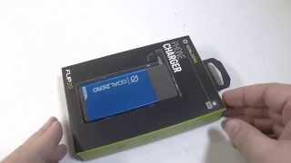 Goal Zero Flip 20 Recharger Portable Battery Unboxing Review