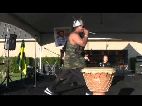 KING G.I. @ HIPHOP/REGGAE FESTIVAL-DALLAS