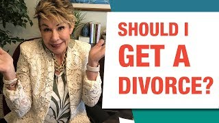 Should You Stay Married Or Get A Divorce?