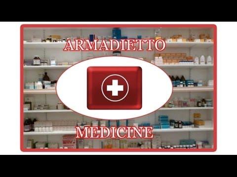 Organizzare l'armadietto dei medicinali