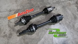 The Hatch Gets UPGRADED AXLES! (No More Autozone)
