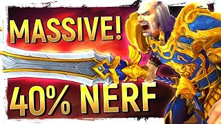 "8.1's GAME WIDE XP Nerf, Blizz's ""All IP"" Mobile Misfire & 8.1's FUN New Loot Design 