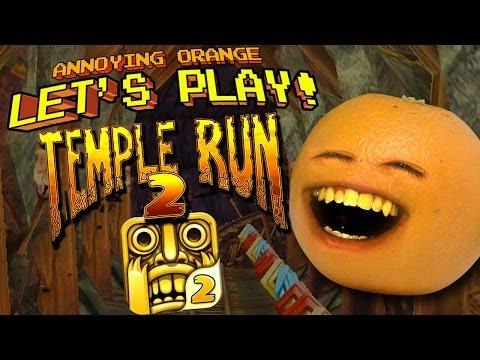 Annoying Orange Temple Run