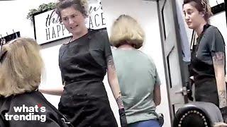 Racist 'Karen' Attempted to Assault a Hairstylist and Still Demands Service