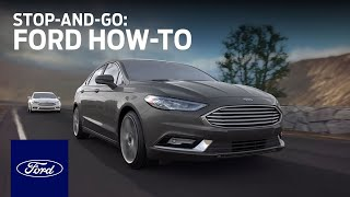 Adaptive Cruise Control with Stop-and-Go | Ford How-To | Ford