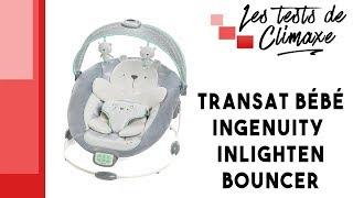 Test d'un transat pour bébé Ingenuity Inlighten Bouncer