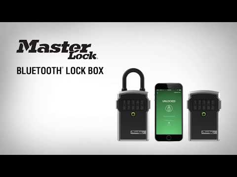 Screen capture of Bluetooth<sup>&reg;</sup> Lock Box - How to Add a Guest to a Lock Box