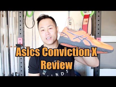 Asics Conviction X Shoe Review