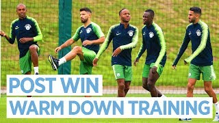 NO REST FOR THE WINNING   Man City Training