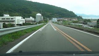 国道56号上りその4愛媛県宇和島市→愛南町・御荘