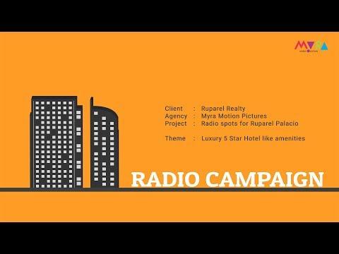 Ruparel Radio Campaign - Luxury 5 Star Hotel Like Amenities