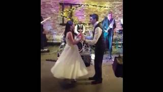 Surprise first dance. Frank Sinatra 'Strangers in the Night' into Paolo Nutini 'Pencil full of lead'