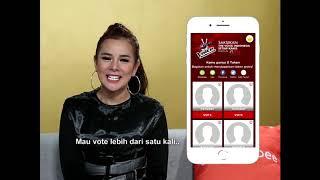 Vote The Voice Indonesia di Shopee!
