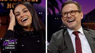 Spot the Fake Laugh w/ Mila Kunis & Christian Slater