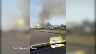 Пожар за Аквапарком г. Волжский
