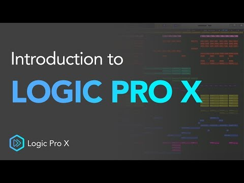 Logic Pro X Introduction Walkthrough