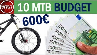 10 MTB a meno di 600€ adatte per iniziare e per escursionismo leggero per un budget ridotto| MTBT
