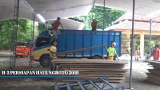 H-3 Persiapan Haul Ngroto 2018