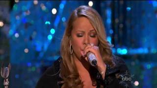 Mariah Carey - O Holy Night - Live ABC Christmas