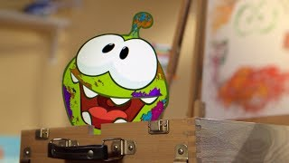 Arts & Crafts | Om Nom Stories | Funny Cartoons For Kids | Cut The Rope
