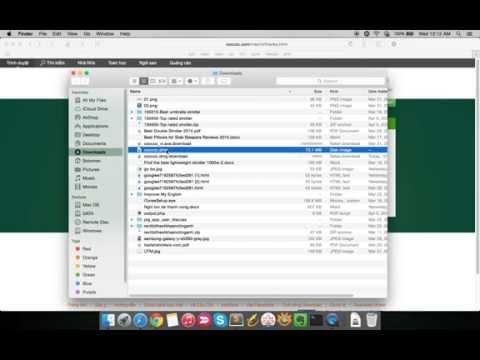 Cách cài đặt trình duyệt Cốc Cốc trên Mac OS X Yosemite