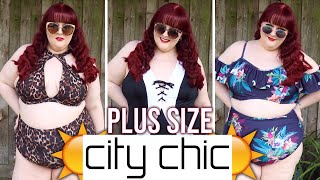 CAPTIVATING, CURVACEOUS, CITY CHIC! | Plus Size Swimwear From City Chic! (City Chic Haul #1)