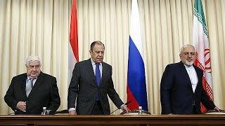 Russia, Iran, Syria denounce US