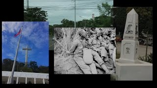 Bataan Death March,  Day Of Valor,  2017 : A New Video Of The Route. 75th Anniversary.