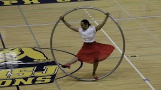 World Championships in Gymwheel 2016 Susan Voyticky Cyrwheel Qualification  7th Place