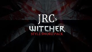 Witcher Sword Pack - The Elder Scrolls V: Skyrim