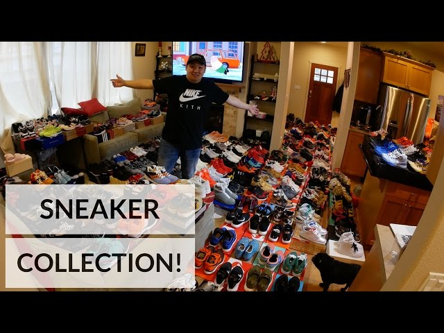 HESKICKS INSANE SNEAKER COLLECTION!! OVER 750 PAIRS! *MUST WATCH!